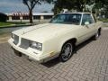 Cream Beige 1985 Oldsmobile Cutlass Supreme Brougham Coupe
