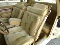 Front Seat of 1985 Cutlass Supreme Brougham Coupe