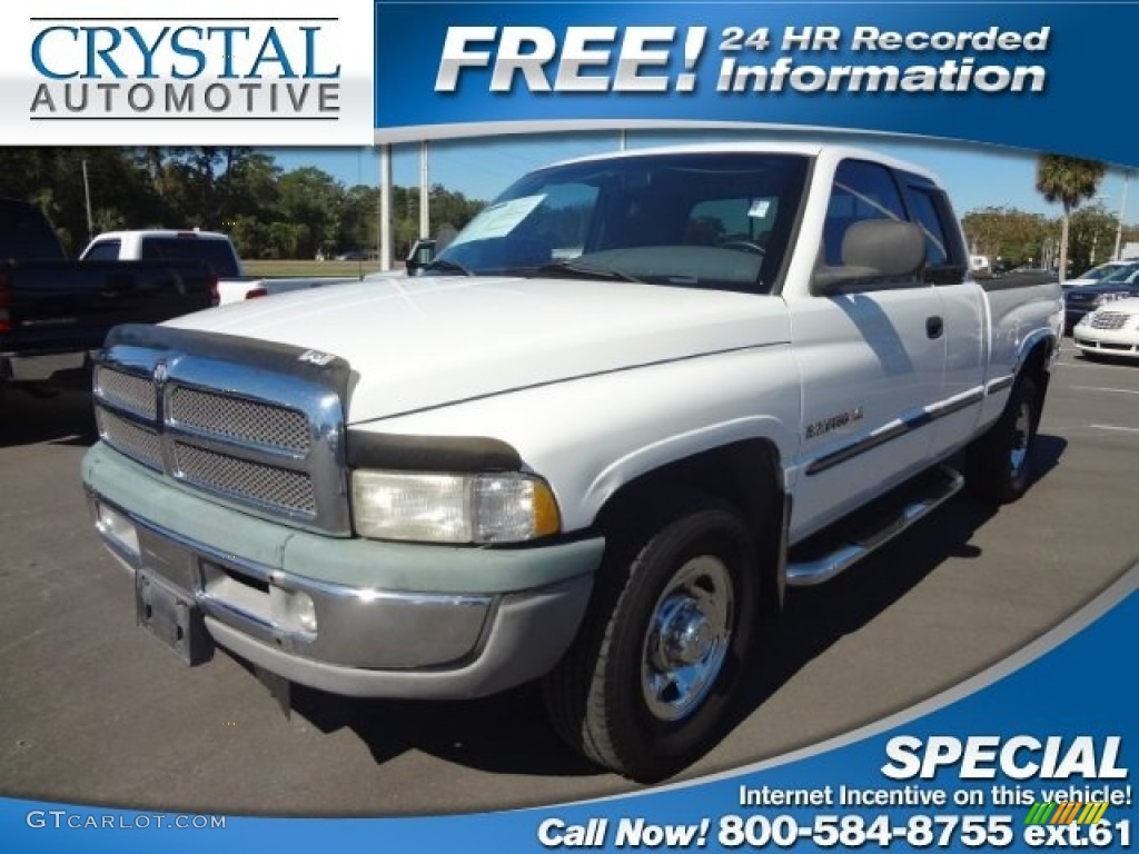 1999 Bright White Dodge Ram 2500 St Extended Cab 73408608