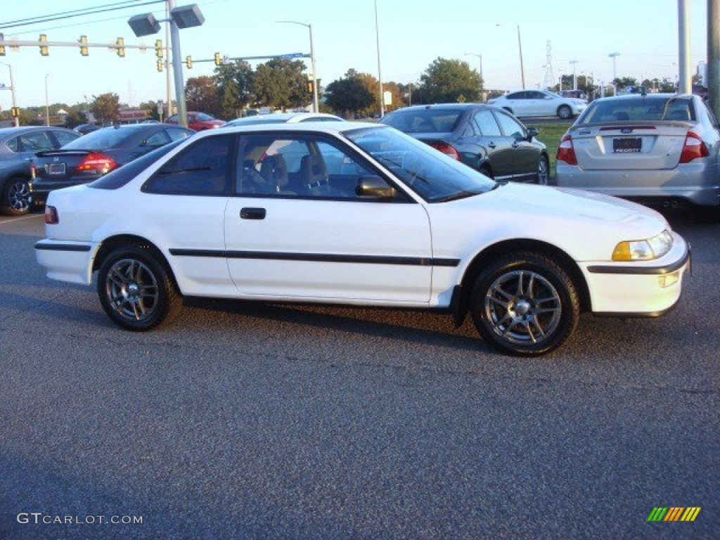 1992 Frost White Acura Integra RS Coupe 73408385 Photo 5