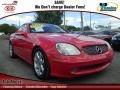 2002 Magma Red Mercedes-Benz SLK 230 Kompressor Roadster #73434931