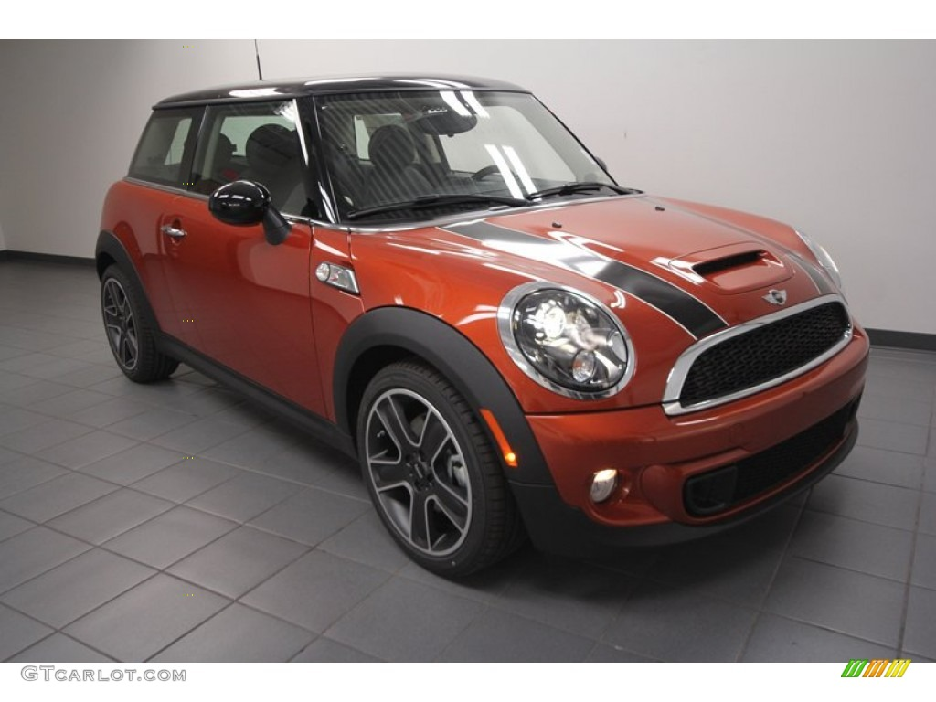2013 spice orange metallic mini cooper s hardtop 73440840 car color galleries. Black Bedroom Furniture Sets. Home Design Ideas
