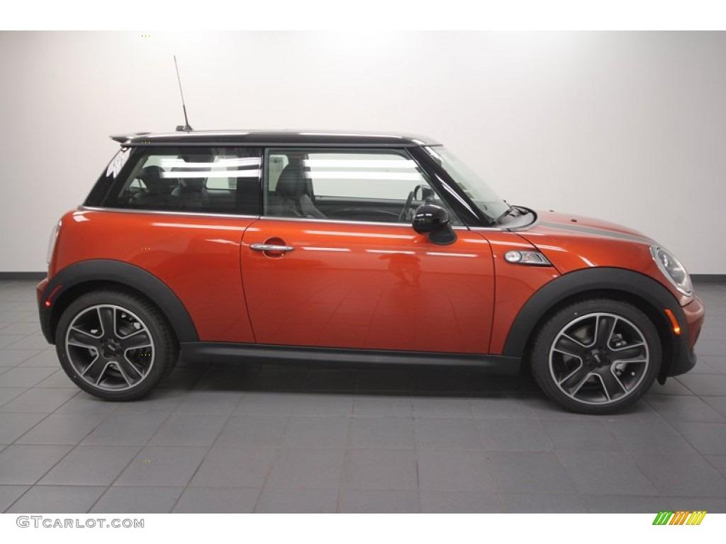 Spice Orange Metallic 2013 Mini Cooper S Hardtop Exterior