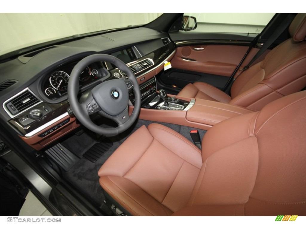 Cinnamon Brown Interior 2013 Bmw 5 Series 550i Xdrive Gran Turismo Photo 73452932