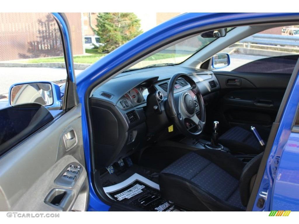 Black Blue Interior 2003 Mitsubishi Lancer Evolution Viii Photo 73453178