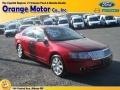 2008 Vivid Red Metallic Lincoln MKZ Sedan  photo #1