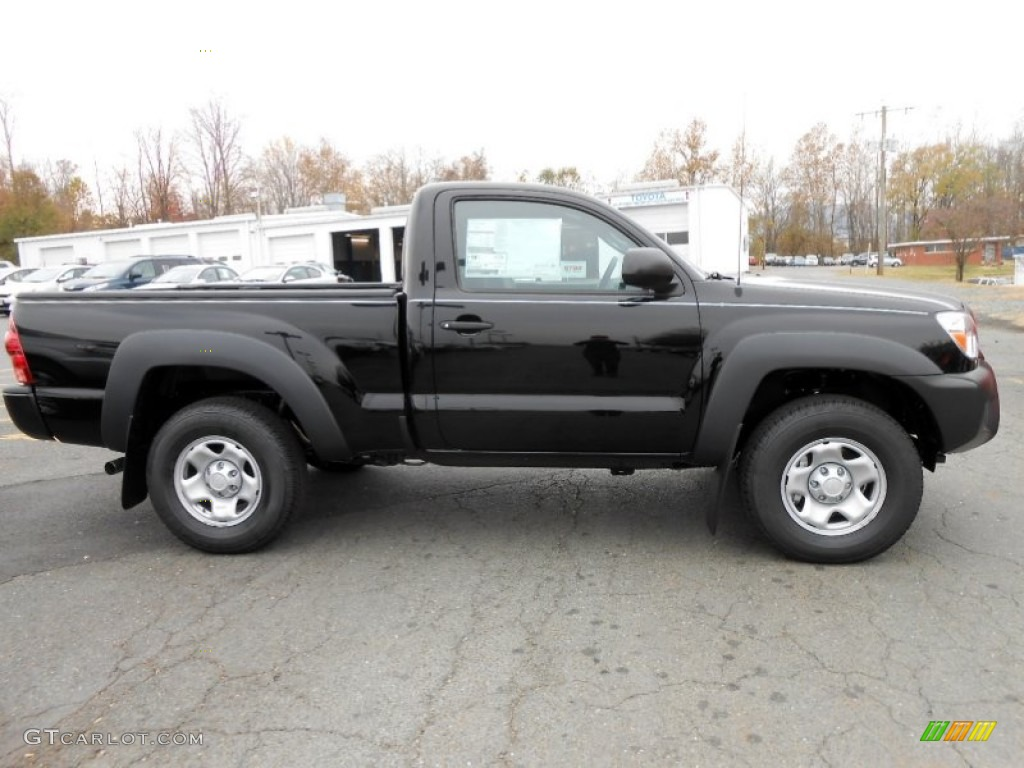 black 2013 toyota tacoma regular cab 4x4 exterior photo 73457736. Black Bedroom Furniture Sets. Home Design Ideas