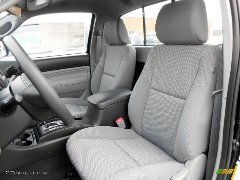 Graphite Interior 2013 Toyota Tacoma Regular Cab 4x4 Photo ...