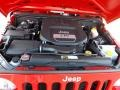 2012 Flame Red Jeep Wrangler Sport 4x4  photo #15