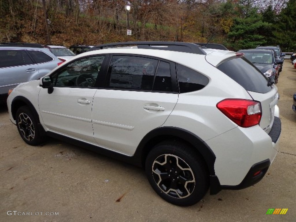 2013 satin white pearl subaru xv crosstrek 2 0 limited 73440502 photo 2 car. Black Bedroom Furniture Sets. Home Design Ideas