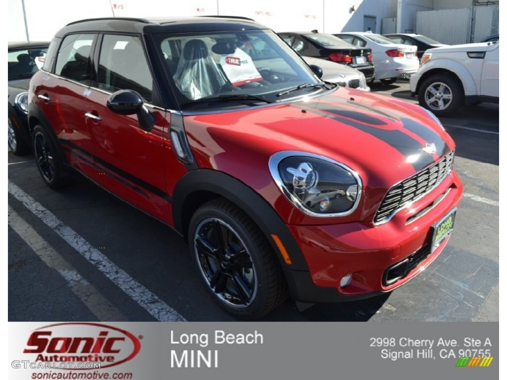 2012 chili red mini cooper s countryman 73440671. Black Bedroom Furniture Sets. Home Design Ideas