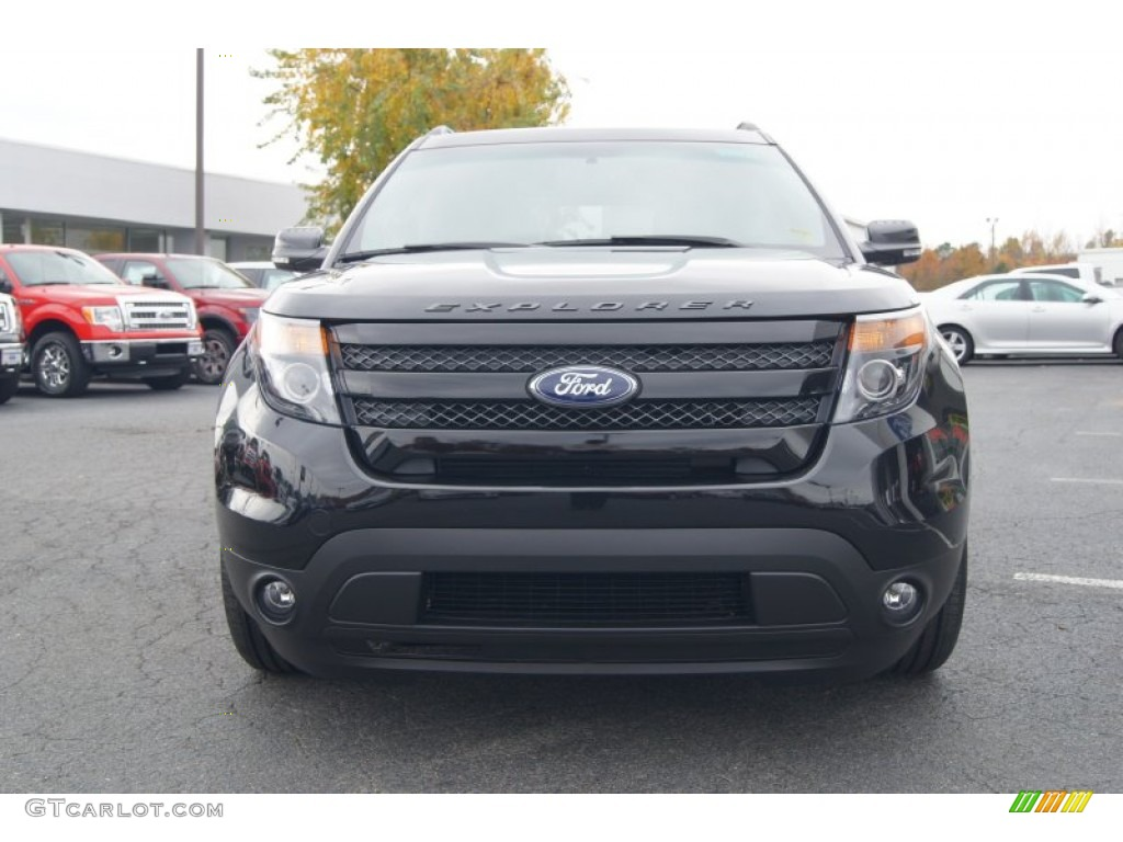 tuxedo black metallic 2013 ford explorer sport 4wd exterior photo 73479929