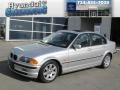 Titanium Silver Metallic 2000 BMW 3 Series 323i Sedan