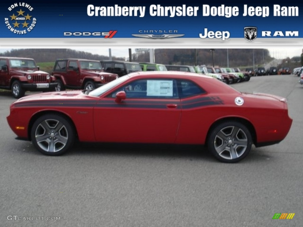 2013 Challenger R/T Classic - Redline 3-Coat Pearl / Dark Slate Gray photo #1
