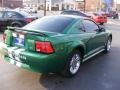 2000 Electric Green Metallic Ford Mustang V6 Coupe  photo #5