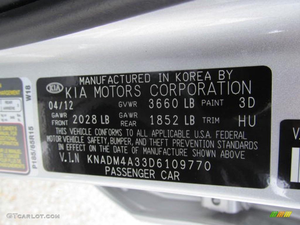 on 2008 Kia Rio Engine