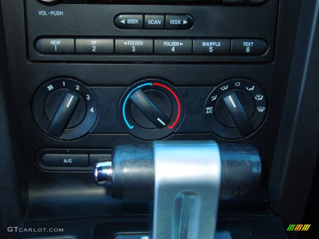 2006 Ford Mustang V6 Premium Coupe Controls Photo #73487683