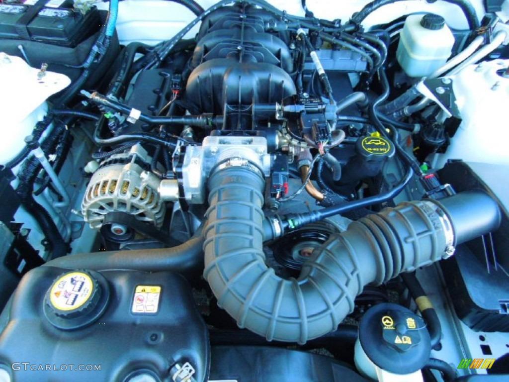 2006 Ford Mustang V6 Premium Coupe 4.0 Liter SOHC 12-Valve V6 Engine Photo #73487881