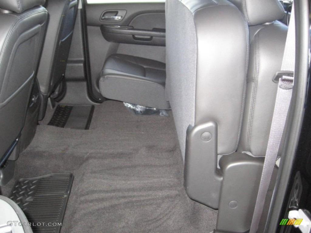 2013 Silverado 1500 LTZ Crew Cab 4x4 - Black / Ebony photo #11