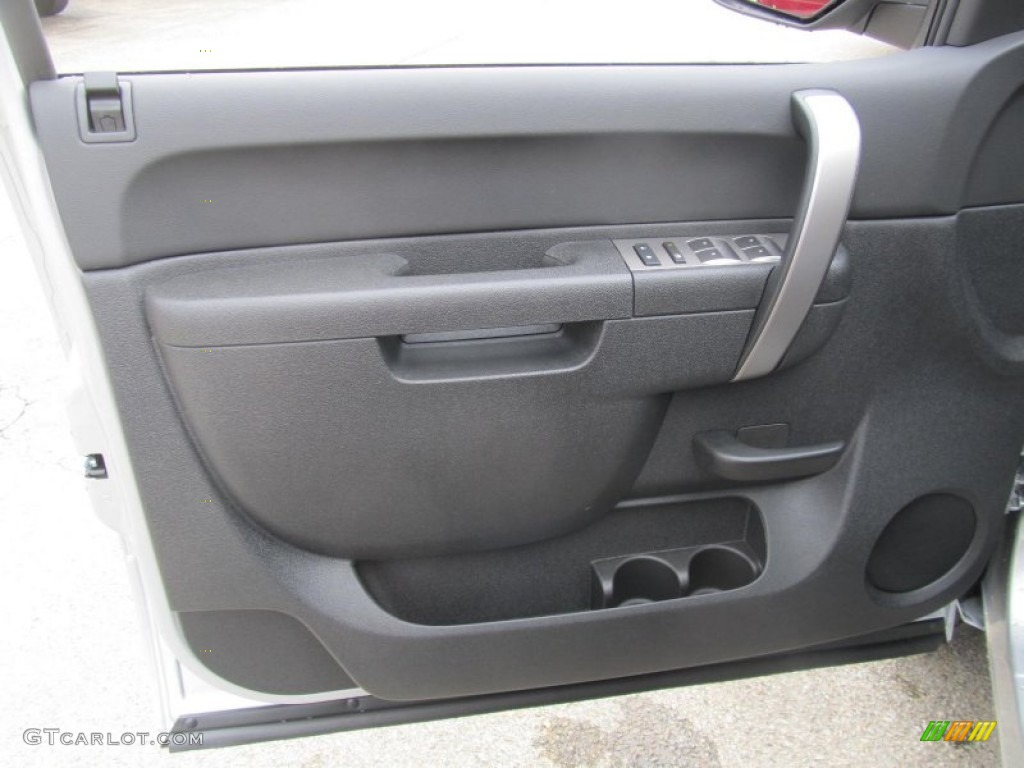2013 Silverado 1500 LT Extended Cab 4x4 - Silver Ice Metallic / Ebony photo #12