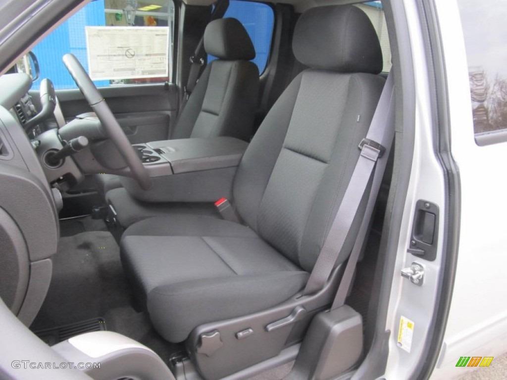 2013 Silverado 1500 LT Extended Cab 4x4 - Silver Ice Metallic / Ebony photo #13