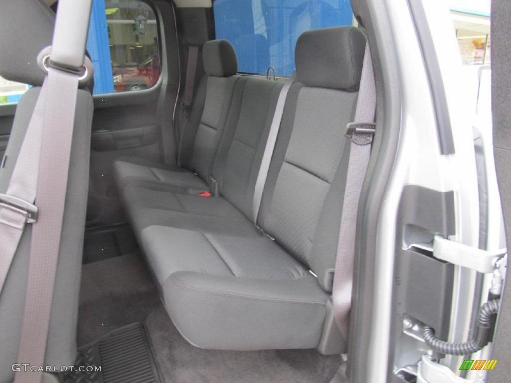 2013 Silverado 1500 LT Extended Cab 4x4 - Silver Ice Metallic / Ebony photo #14