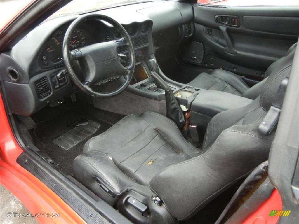 Black interior 1996 mitsubishi 3000gt sl coupe photo 73496954 gtcarlot com
