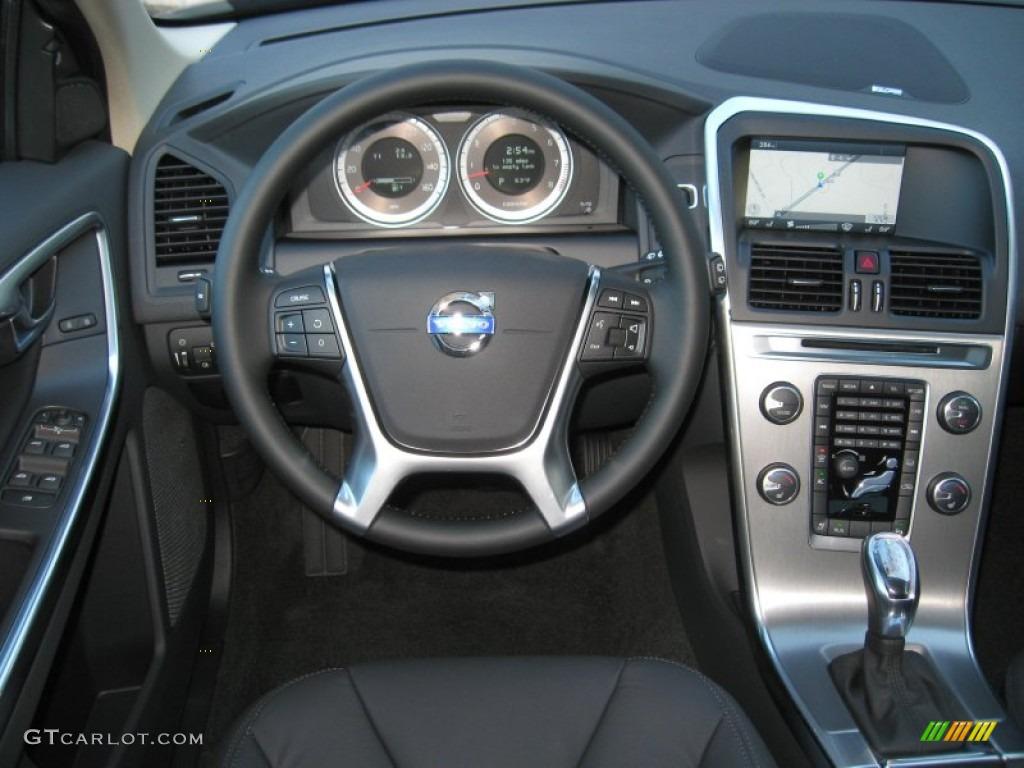 2013 Volvo Xc60 3 2 Awd Anthracite Black Dashboard Photo