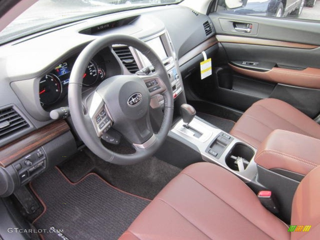 Saddle Brown Interior 2013 Subaru Outback Limited Photo 73516875