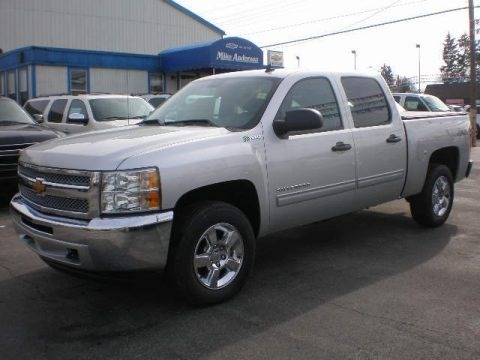 2013 Chevrolet Silverado 1500 Hybrid Crew Cab 4WD Data, Info and Specs