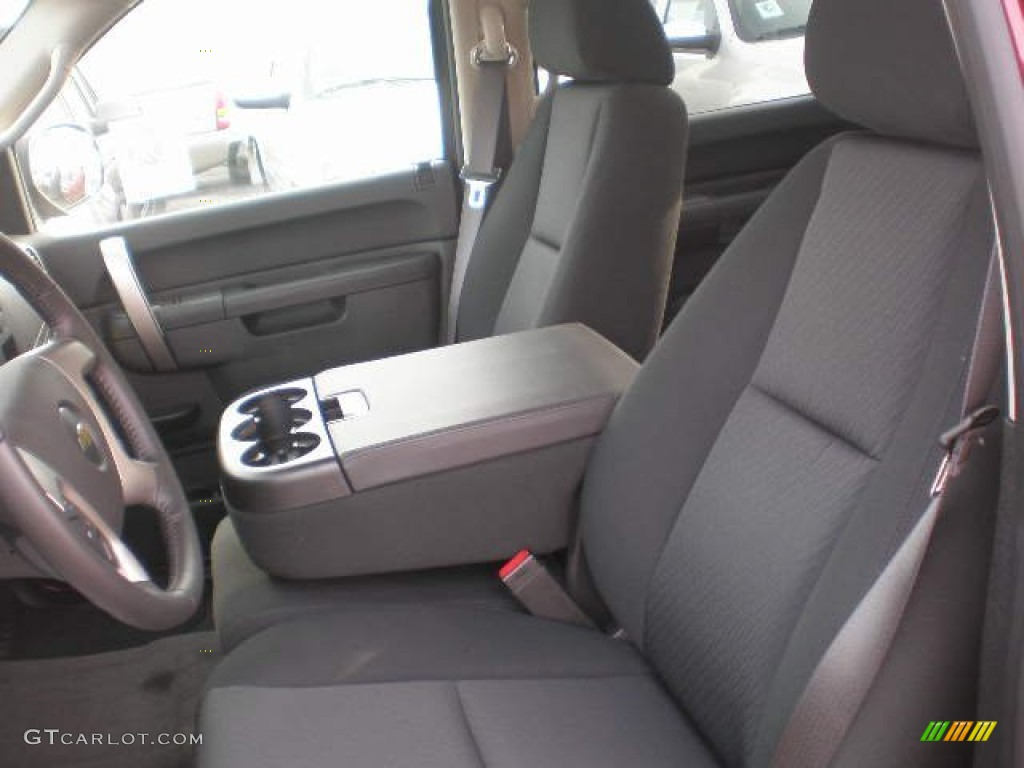 2013 Silverado 1500 LT Crew Cab 4x4 - Deep Ruby Metallic / Ebony photo #3