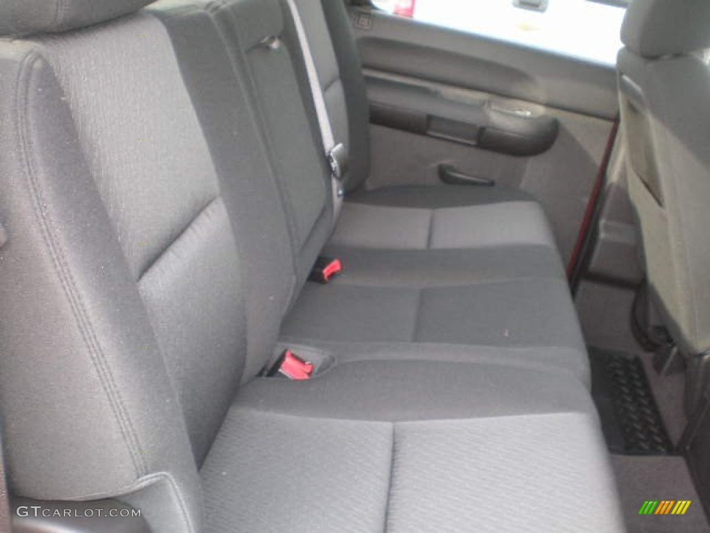 2013 Silverado 1500 LT Crew Cab 4x4 - Deep Ruby Metallic / Ebony photo #7