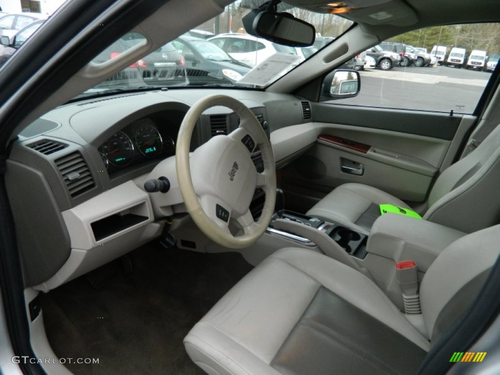 Medium Slate Gray Interior 2005 Jeep Grand Cherokee Limited 4x4 Photo 73543451