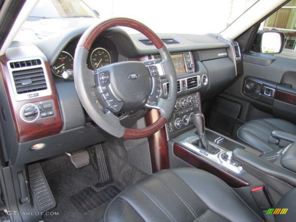Jet Black Interior 2010 Land Rover Range Rover Hse Photo 73544608