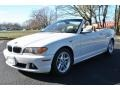 Alpine White 2004 BMW 3 Series 325i Convertible