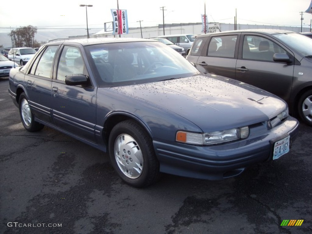 1997 adriatic blue metallic oldsmobile cutlass supreme sl sedan 73538510 gtcarlot com car color galleries gtcarlot com