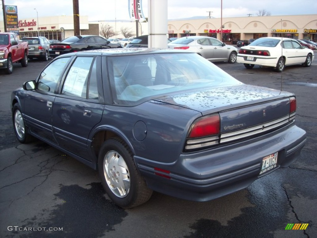 1997 adriatic blue metallic oldsmobile cutlass supreme sl sedan 73538510 photo 4 gtcarlot com car color galleries gtcarlot com
