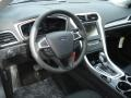 Charcoal Black Dashboard Photo for 2013 Ford Fusion #73560911