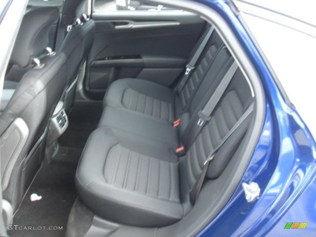 Charcoal Black Interior 2013 Ford Fusion Se 1 6 Ecoboost Photo 73560959