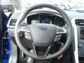Charcoal Black Steering Wheel Photo for 2013 Ford Fusion #73561052