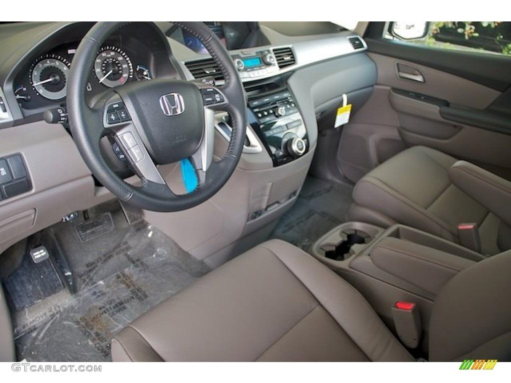 Truffle Interior 2013 Honda Odyssey Ex L Photo 73562495
