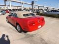 2007 Torch Red Ford Mustang V6 Premium Convertible  photo #11