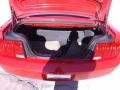 2007 Torch Red Ford Mustang V6 Premium Convertible  photo #21
