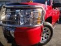 2009 Victory Red Chevrolet Silverado 1500 LS Extended Cab  photo #7