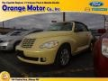 2007 Pastel Yellow Chrysler PT Cruiser Touring Convertible #73581365