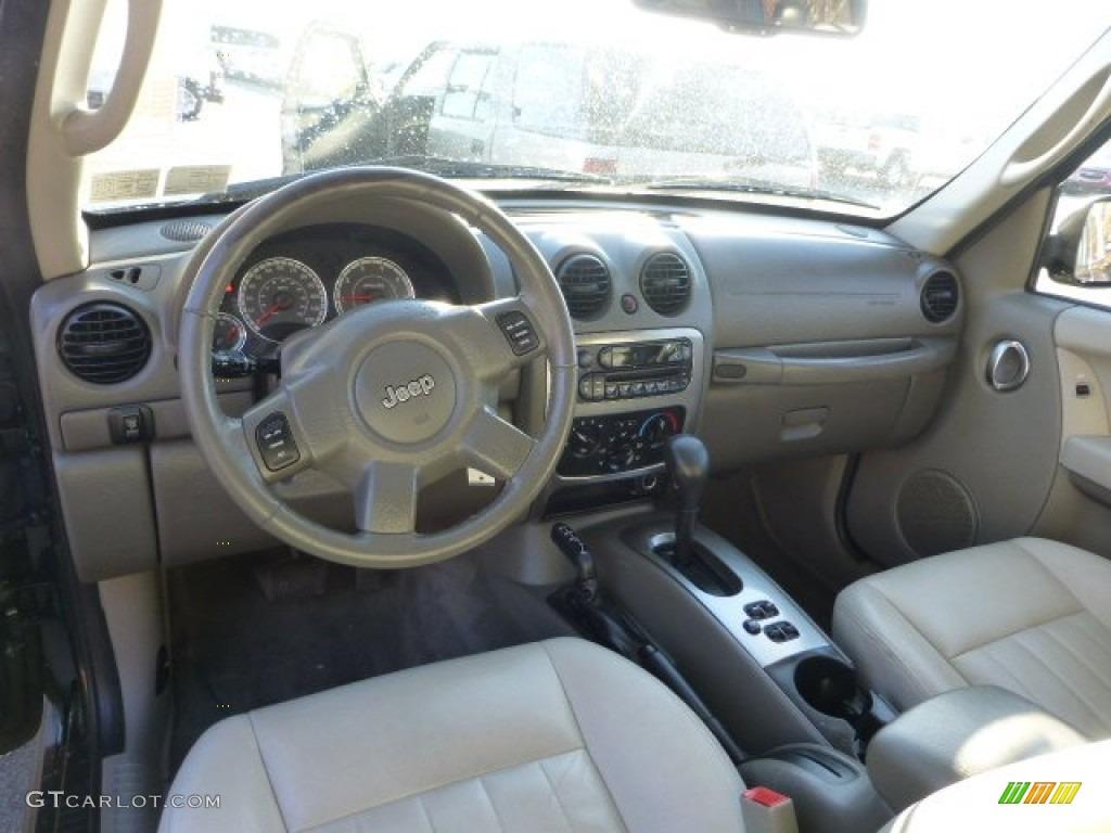 2006 Jeep Liberty Renegade 4x4 Interior Color Photos ...
