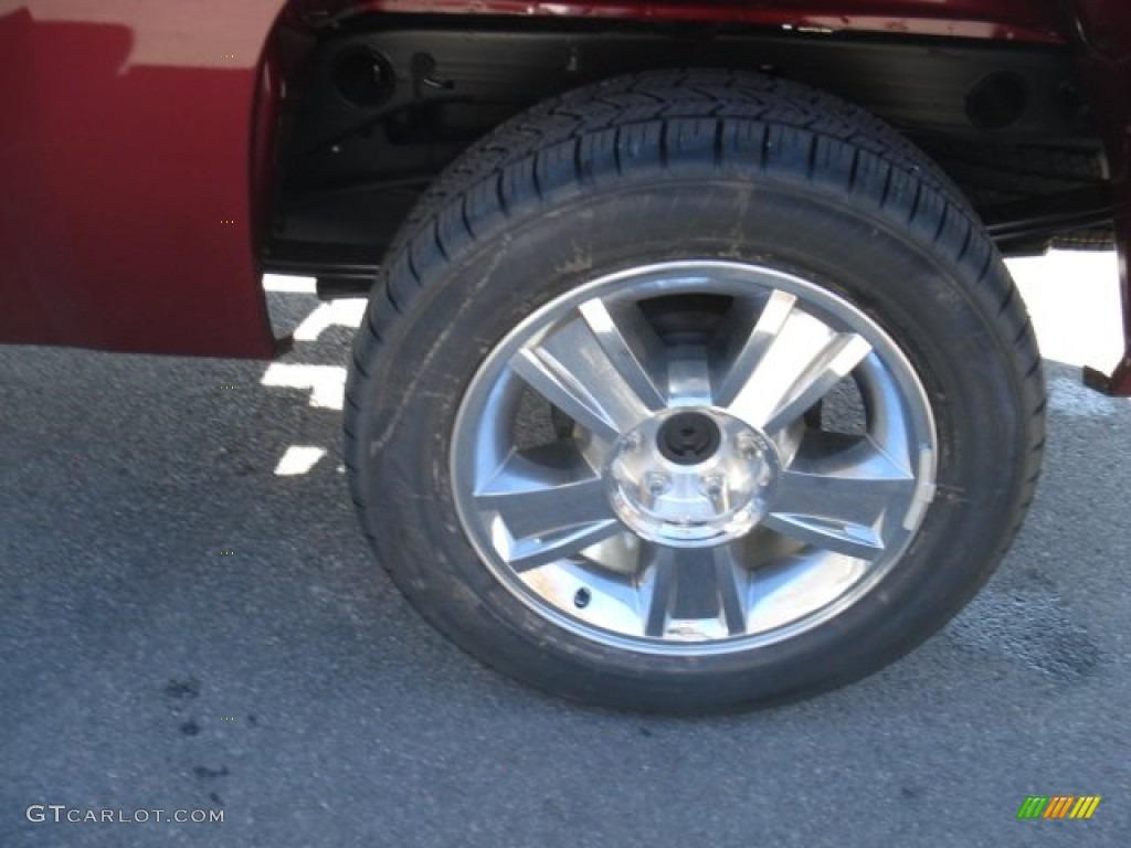 2013 Silverado 1500 LT Extended Cab 4x4 - Deep Ruby Metallic / Ebony photo #9