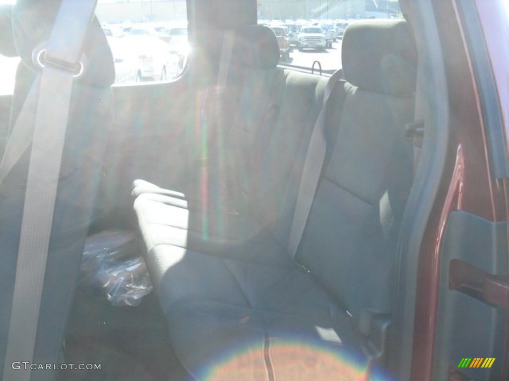 2013 Silverado 1500 LT Extended Cab 4x4 - Deep Ruby Metallic / Ebony photo #13