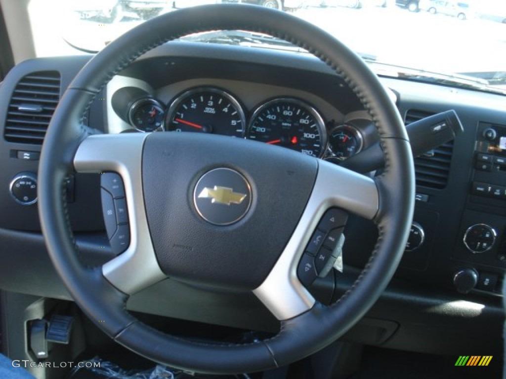 2013 Silverado 1500 LT Extended Cab 4x4 - Deep Ruby Metallic / Ebony photo #18