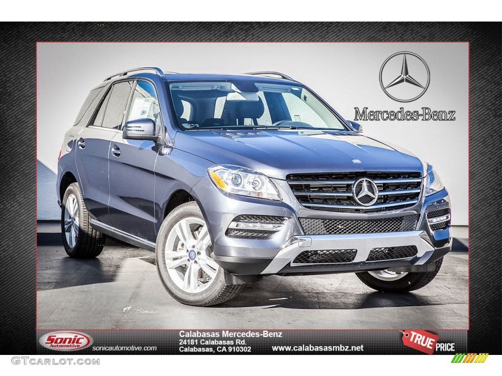 2013 steel grey metallic mercedes benz ml 350 4matic for Mercedes benz 350 ml 2013